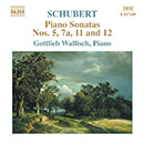 Schubert: Piano Sonatas Nos. 5, 7A, 11 and 12 (Fragments)