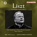 Liszt, F: Symphonic Poems, Vol.  5  - Dante Symphony / 2 Legends