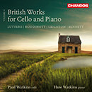 British Works for Cello and Piano, Volume 4