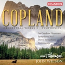 Copland: Orchestral Works, Vol. 3 – Symphonies