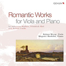 Romantic Works for Viola & Piano