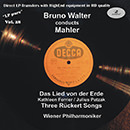 """LP pure"" Vol. 28: Bruno Walter Conducts Mahler"