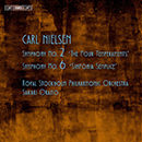 Carl Nielsen: Symphony No. 2 'The Four Temperaments' - Symphony No. 6 'Sinfonia Semplice'