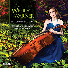 HAYDN, J.: Cello Concertos Nos. 1 and 2 / MYSLIVECEK, J.: Cello Concerto (W. Warner, Chicago Camerata, D. Hall)