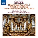 Reger: Three Organ Pieces, Op. 7 - Method of Trio Playing - Three Chorale Preludes, Op. 67, Nos. 36-38
