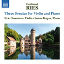 Ries: 3 Sonatas for Violin & Piano