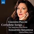 Puccini : Complete Songs for Soprano & Piano