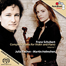 Schubert, F.: Violin and Piano Music (Complete), Vol. 1