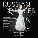 Russian Dances: Tchaikovsky: Suite From Swan Lake - Glazunov: Two Concert Waltz - Shostakovitch: The Golden Age - Stravinsky: Circus Polka
