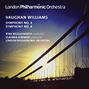 Vaughan Williams: Symphonies Nos. 4 & 8 (Live)