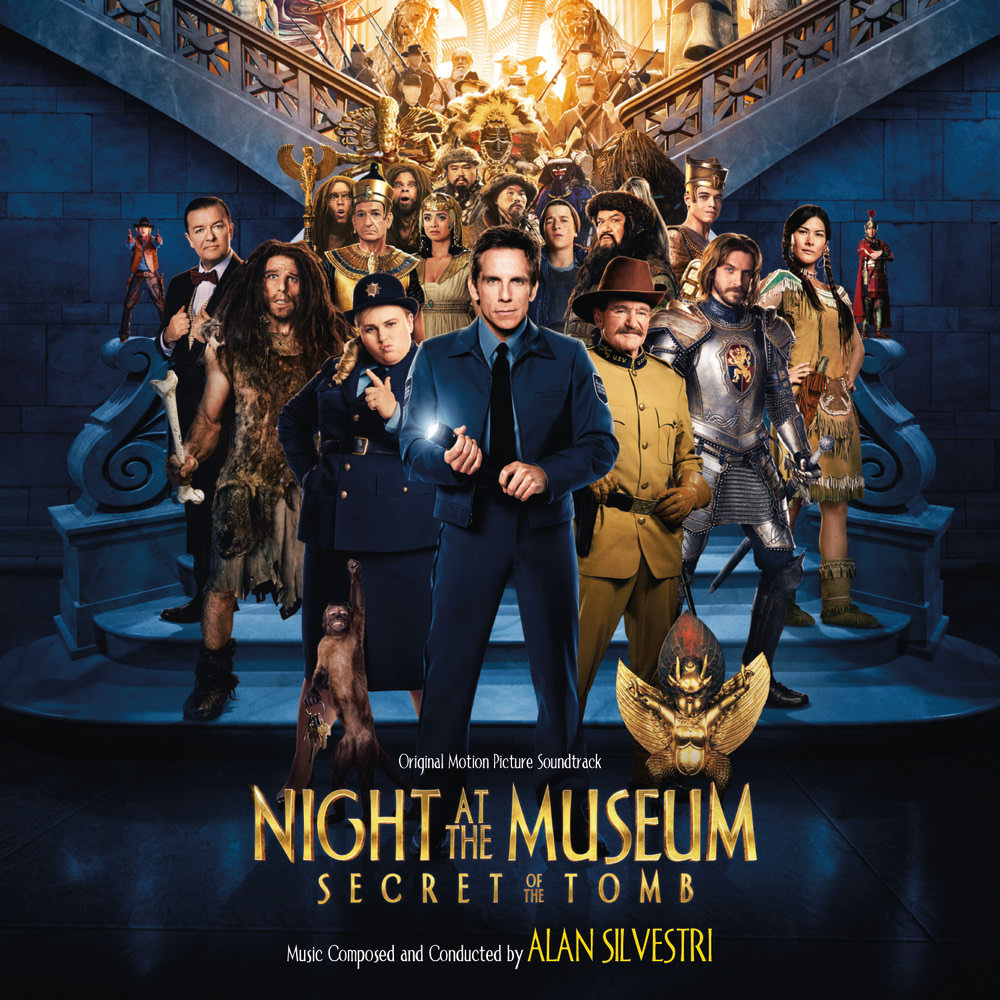 alan silvestri, night at the museum: secret of the tomb (original