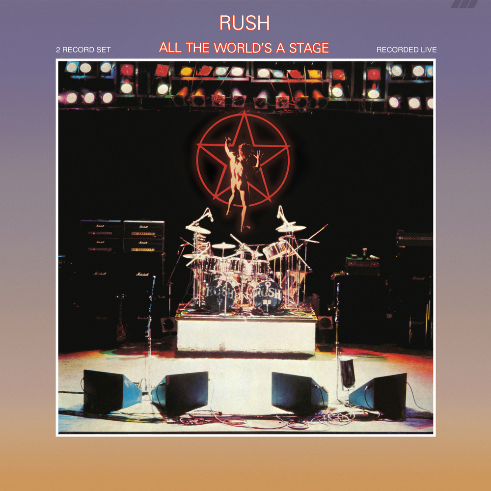Rush all the world 39 s a stage remastered 2015 in high resolution audio prostudiomasters - Rush album covers ...