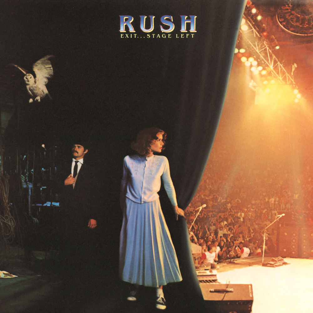 Rush exit stage left remastered 2015 in high resolution audio prostudiomasters - Rush album covers ...