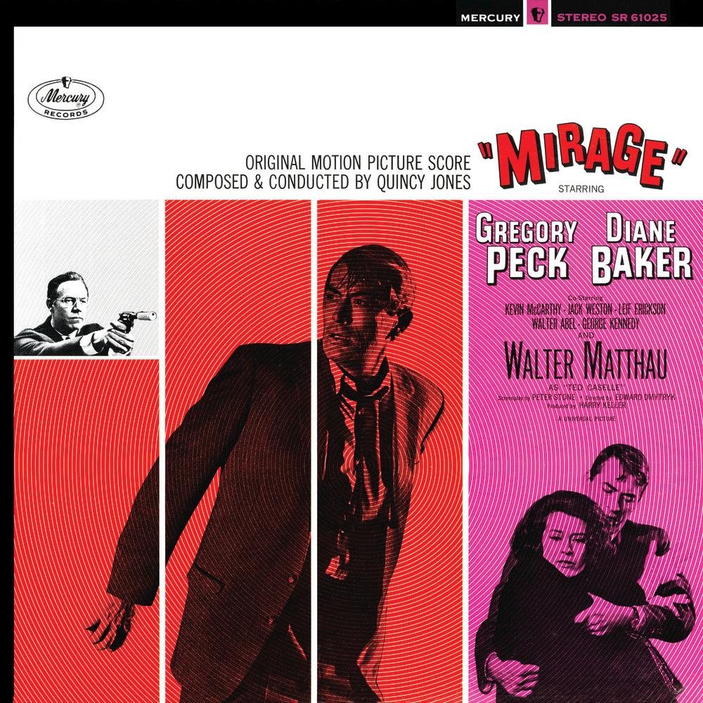 Image result for mirage 1965 soundtrack