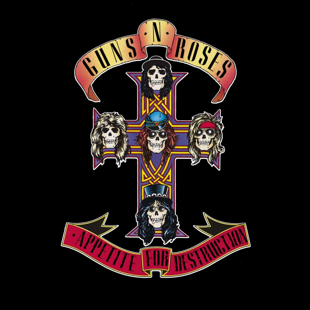 Guns N' Roses, Appetite For Destruction in High-Resolution ...