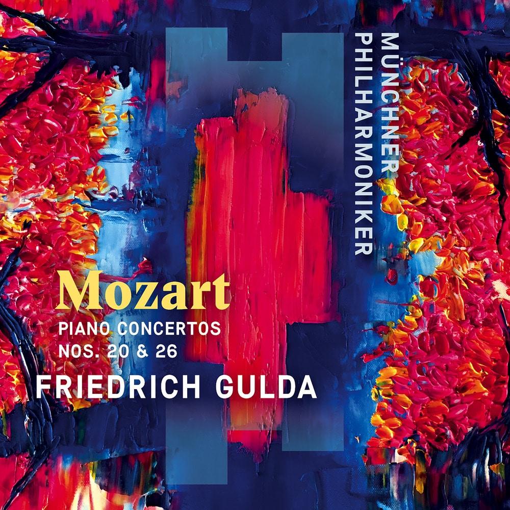 Münchner Philharmoniker Friedrich Gulda Mozart Piano Concertos Nos 20 26 Coronation In High Resolution Audio Prostudiomasters