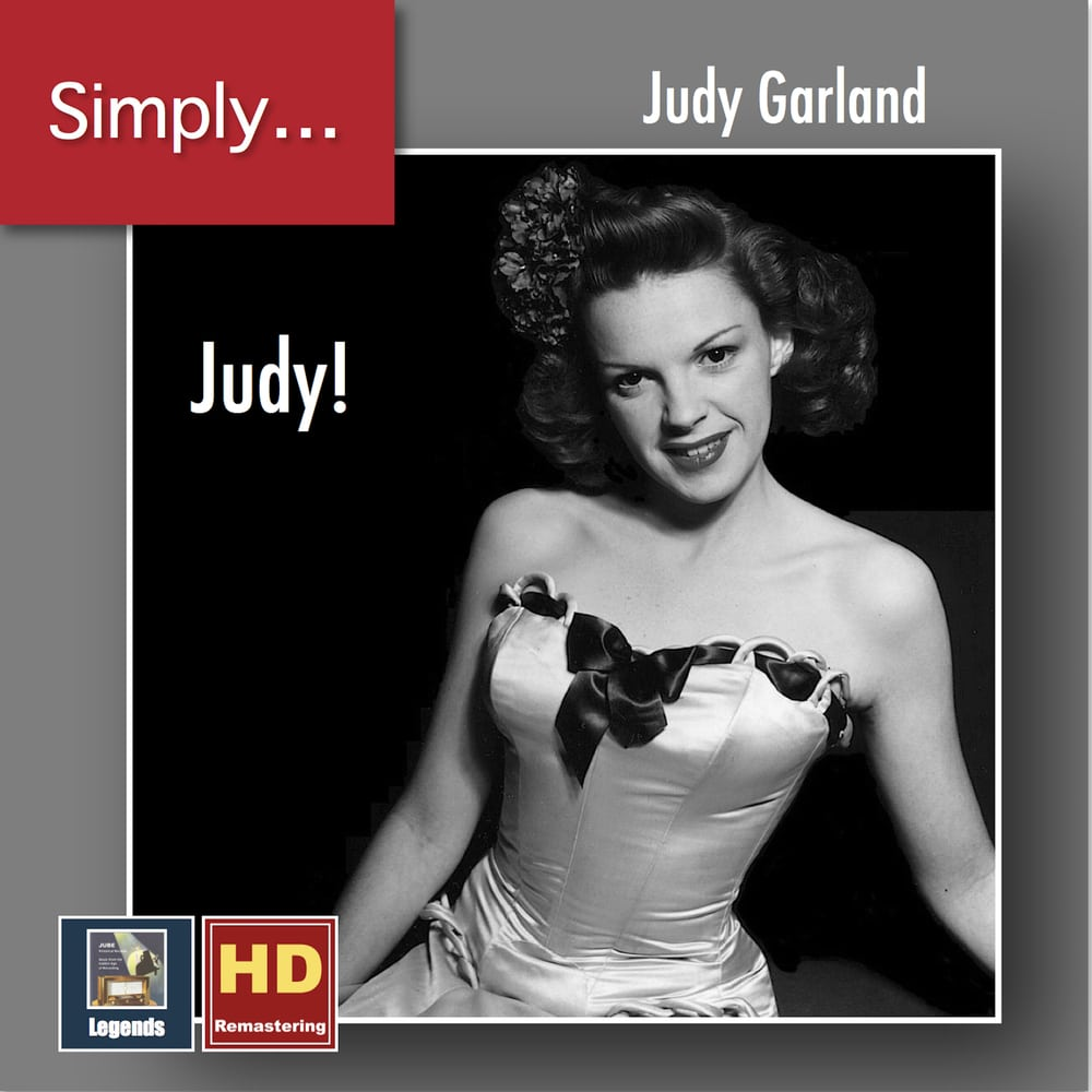 Judy Garland, Simply... Judy! in High-Resolution Audio ...