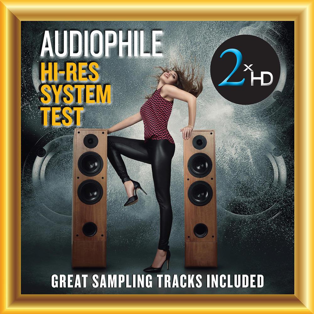 Various Artists, Audiophile Hi-Res System Test - Great Sampling