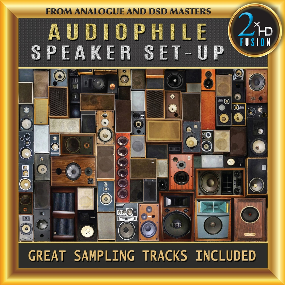 Various Artists, Audiophile Speaker Set-Up in High-Resolution Audio