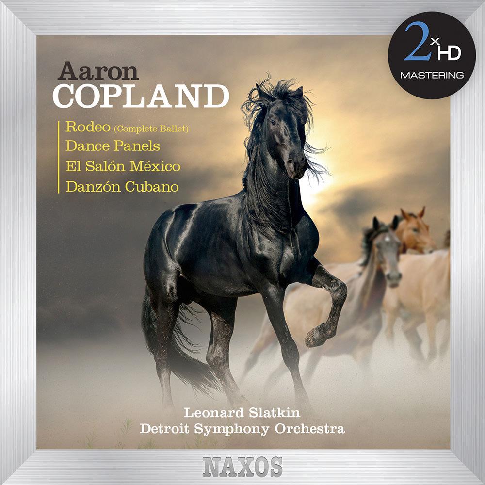 Detroit symphony orchestra leonard slatkin aaron copland for Aaron copland el salon mexico