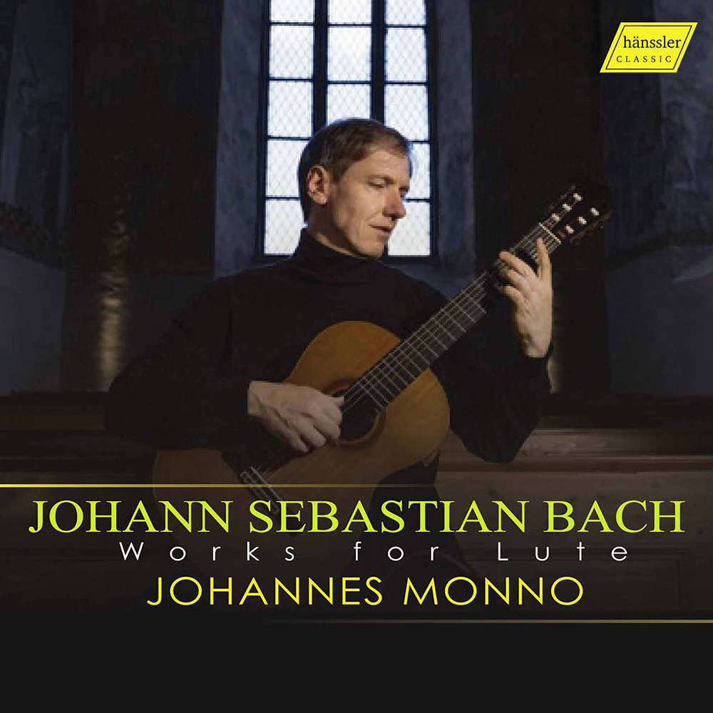 Johannes Monno, J S  Bach: Works for Lute in High-Resolution